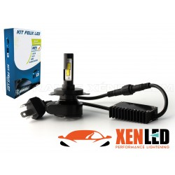 Ampoule H4 Bi LED - Ventilée - Extra Mini - 2500/3500 lms