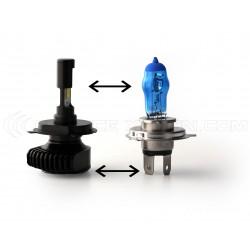 H4 Bi LED - Fan - Extra Mini - 2500 / 3500  lms