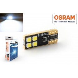 1 x 4-lampadina W5W LED oneside 420lms super-canbus xenled - oro