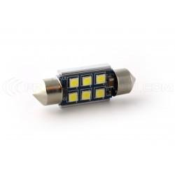 1 x lampadina C5W c7w 450lms canbus Super 6-LED xenled - oro