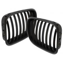 2x grids calender BMW e53 x5 black 00-03