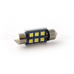 1 x Birnen C10W 6-LED Super Canbus 450Lms XENLED - GOLD