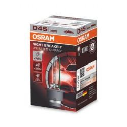 1x Ampoule Xénon OSRAM XENARC NIGHT BREAKER UNLIMITED D4S HID Lampe à décharge, 66440XNB