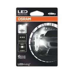 1x premium osram LED retrofit sv8.5-8 41mm, led-C5W, indoors lighting