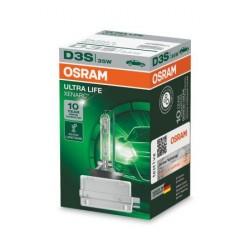1x Ampoule xénon OSRAM XENARC ULTRA LIFE D3S HID lampe à décharge, 66340ULT, Garantie 10 ans
