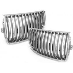 griglie 2x calandra BMW E90 3 serie 05-08_chrome