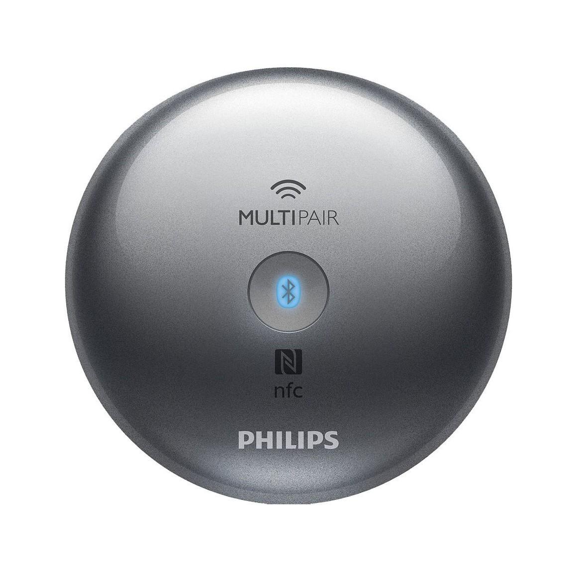 philips aea2700 adaptateur hi fi bluetooth nfc multipair universel avec prise rca et audio. Black Bedroom Furniture Sets. Home Design Ideas