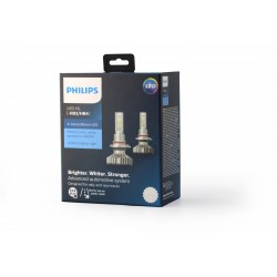 2x Ampoules HB3 & HB4 LED PHILIPS X-Treme Ultinon