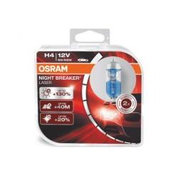 2x H4 NIGHT BREAKER LASER +130%, Lampe de phare halogène, 64193NBL-HCB, 12V , boîte duo