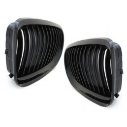 2x grids calender BMW e90 3 series 08-12 _ black brilliant