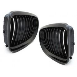 2x Grilles de calandre BMW E90 3 series 08-12 _ Noir Brillant