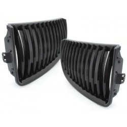 2x grids calender BMW e90 3 series 05-08 _ glossy black