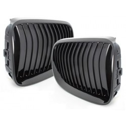2x grids grille BMW e92 / 93 2010 + 3 series black _glossy