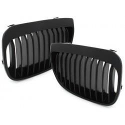 2x Grilles de calandre BMW E87 1er 05-07_glossy black
