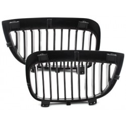 2x grids grille bmw E87 1 05-07_glossy black