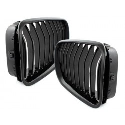 griglie 2x calandra BMW F06 6er M6 grande taglio 12+ _ nero brillante