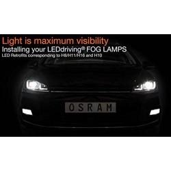2x OSRAM LEDriving H8/H11/H16, 66220CW, 12 V
