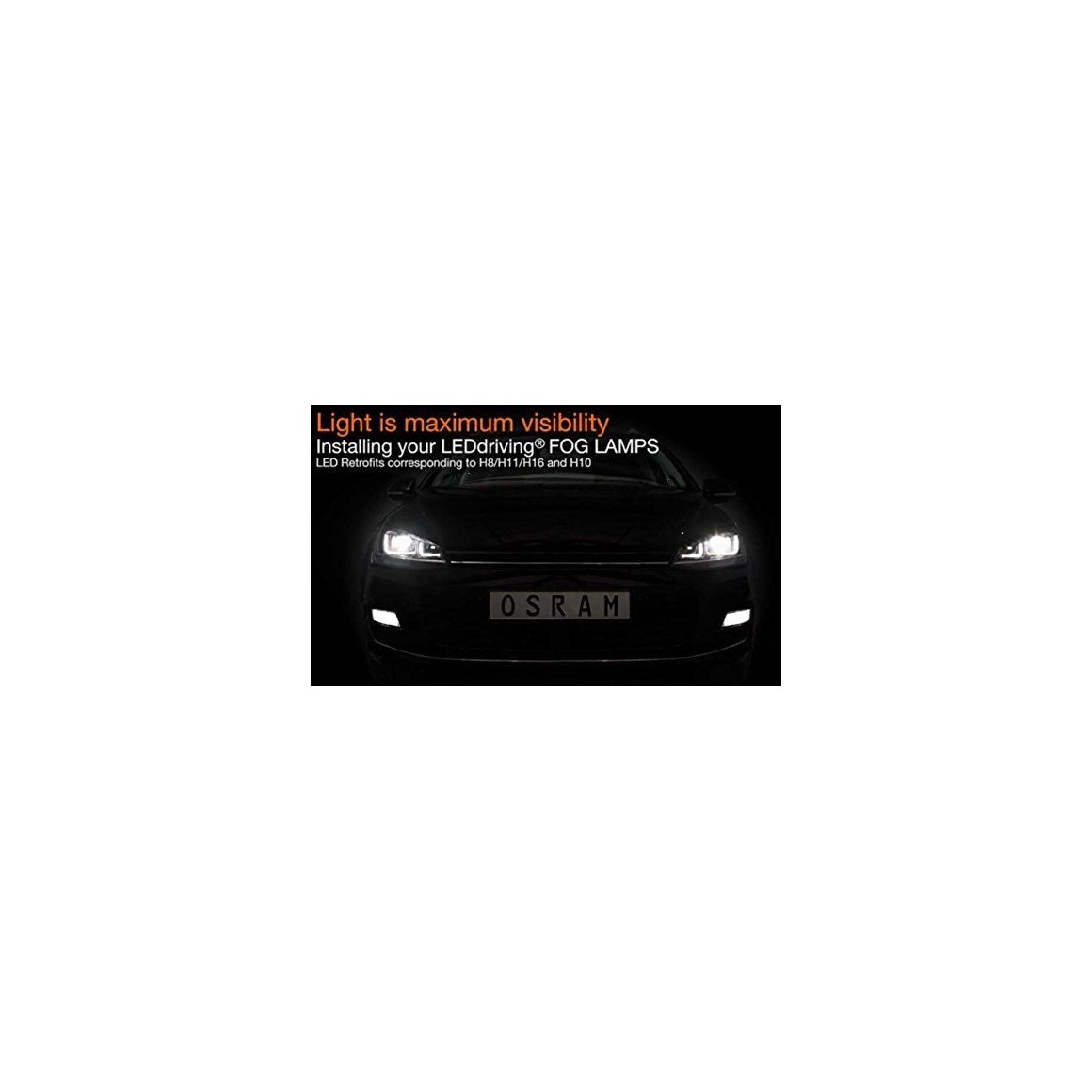Osram 66220CW LED Fog Lights