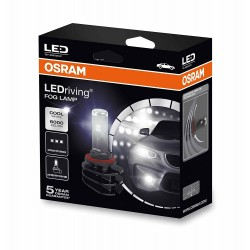 2x osram ledriving h8 / h11 / h16, fire LED lights, 66220cw, 12 v