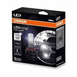 2x OSRAM ledriving H8 / H11 / H16, fuoco luci LED, 66220cw, 12 v