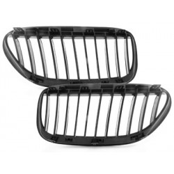 griglie 2x calandra BMW E63 / 64 di taglio 6er / cabrio 05-10 _ brillava nero