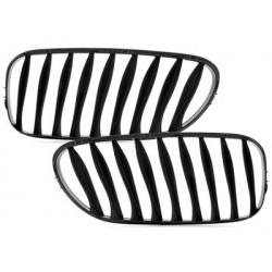 2x grilles BMW z4 e85 03-08 _ glossy black