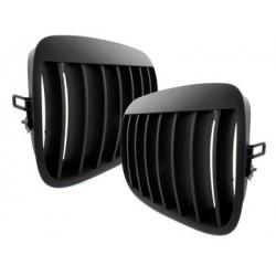 2x grids calender BMW e70 x5 07-13. e71 black 08+ _glossy