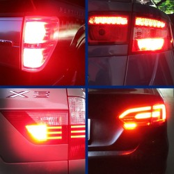 LED Rear Fog Lamps pack for  SEAT - EXEO (3R2)