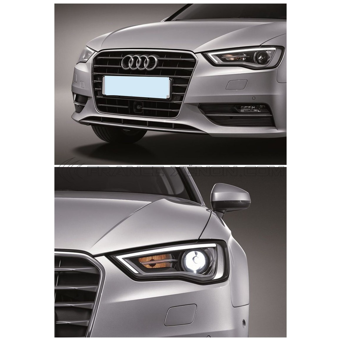 2x Headlights Audi A3 8V Full Xénon / LED - France-Xenon