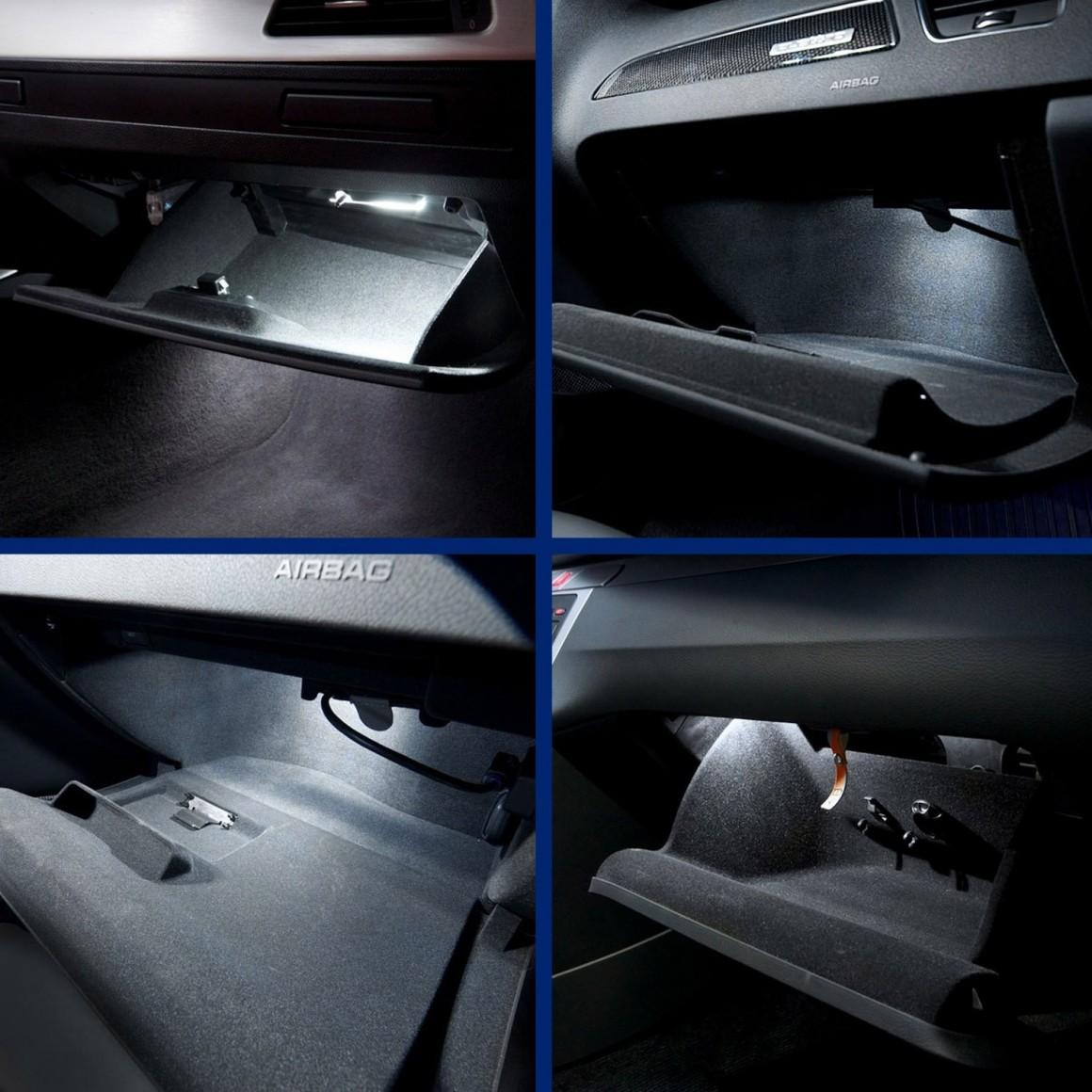 Glovebox Led Pack For Peugeot 407 Sw 6e