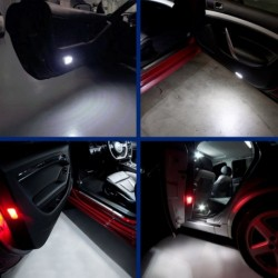 2x Doors LEDs Lamps for SEAT EXEO ST (3R5)