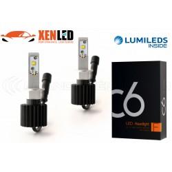 2 x 60W bulbs h1 c6 - 6000lm - 6000k - 12/24 vdc