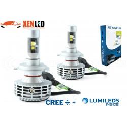 Kit Led Haute puissance H4 HP 6G 55/65W - 3000Lm - 6500K