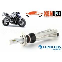 Bulb H4 dual LED xl6s 55W - 4600lm - Motorcycle - 12v / 24v
