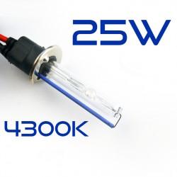2 x lampade H1 6000K 35W base metallo