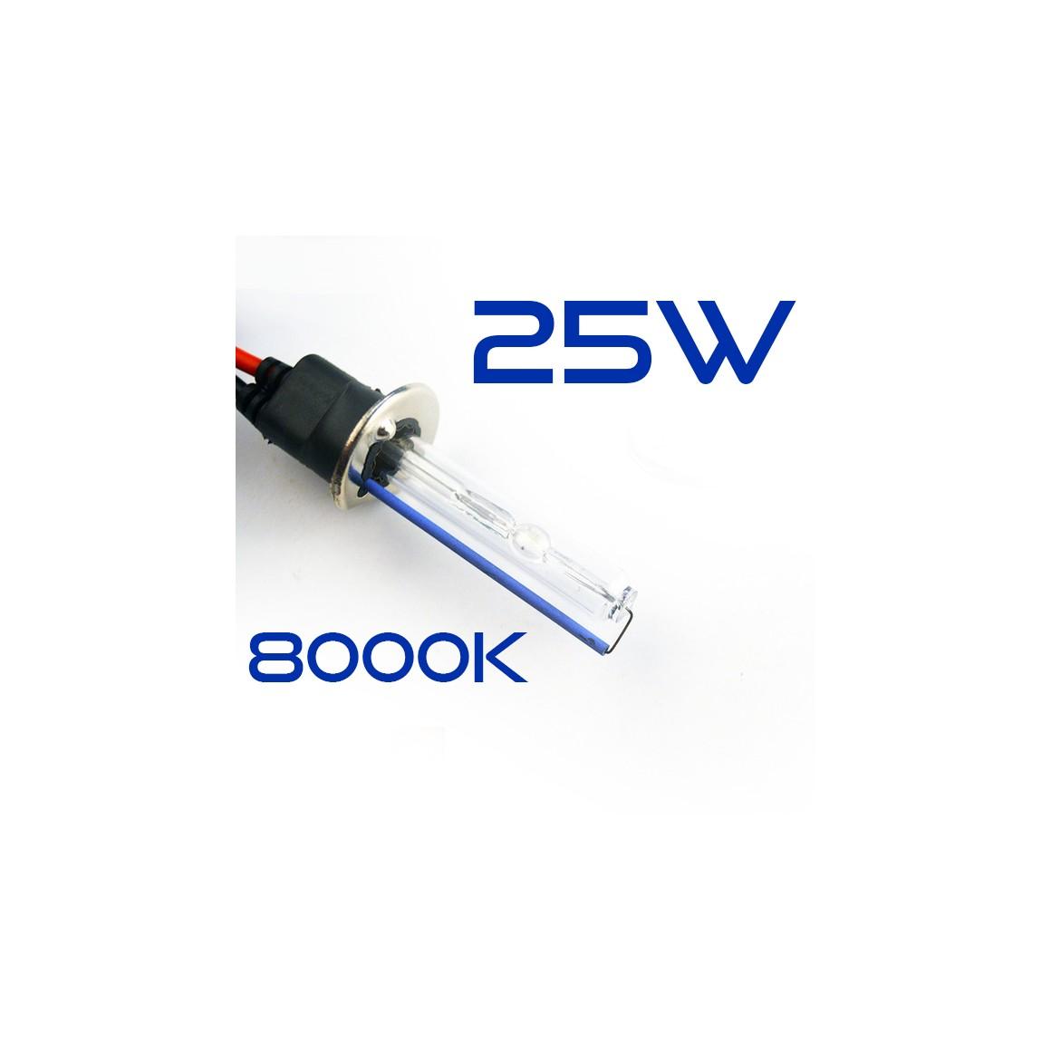Ampoule Rechange H1 8000K 25W métallique