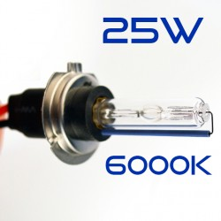 H7 6000K 25W Bulb