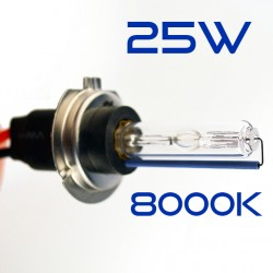 H7 8000K 25W Bulb