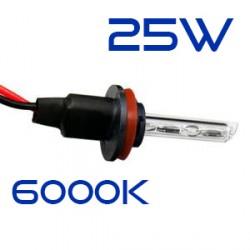 Ampoule Rechange H9 6000K 25W métallique