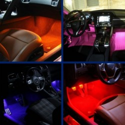 2x LEDs lighting Footwell for AUDI A3 (8P1)