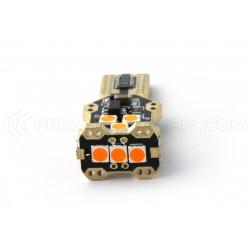 1 x WY16W T15 LED Birne Super Canbus 850Lms XENLED - ORANGE
