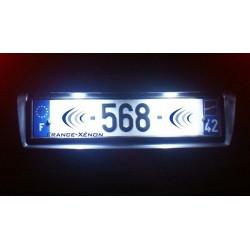 Pack plaque LED - Porsche 911 2005 à 2012 (997) - BLANC