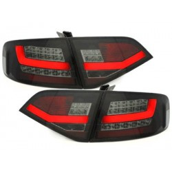 LED taillights Audi A4 B8 8K Lim. 07-10_black/smoke