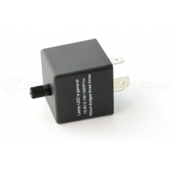 Relay CF13 JL-02 Adjustable Flasher LED 12V Flasher Motorcycle Car 12V 0.02A to 20A