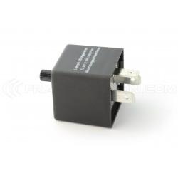 Relais CF13 JL-02 Ajustable Clignotant LED 12V Flasher Moto Voiture 12V 0.02A à 20A