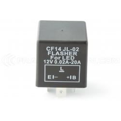 Relais CF14 JL-02 Clignotant LED 12V Flasher Moto Voiture 12V 0.02A à 20A petit modèle
