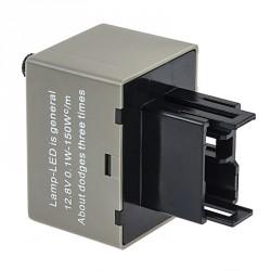 Relais CF18 81980-50030 06650-4650 LM449 AJUSTABLE Clignotant LED 12V Flasher Moto Voiture 12V 150W