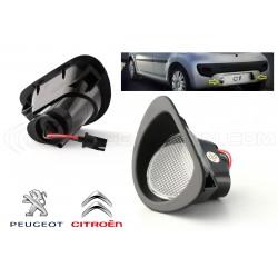 License plate modules for Peugeot 107 & Citroën C1