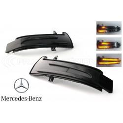 Ripetitori Dynamic LED Specchio Mercedes Classe A, CLA, C, B, E, CL, CLS, GLK, GL, ML, S