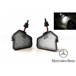 Pack 2 LED Lights Mirror Mercedes Classe A W176 / B W242 W246 / C W204 / W212 W221 W219 W117 W209 W156